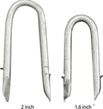Fence Staple Galvanized U Nails Stapling Wire Fence To